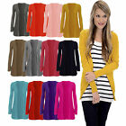 New Look Ladies Womens boyfriend cardigan Long Sleeve Pockets Plus Sizes UK 8-22