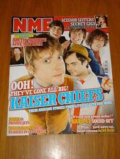 NME 2005 AUG 6 KAISER CHIEFS SCISSOR SISTERS STRIPES