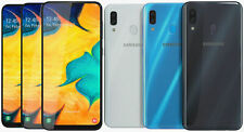 New & Sealed Unlocked SAMSUNG Galaxy A30 Black Blue White Android Phone