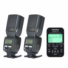 2 x YongNuo YN685 Flash Speedlite + 1 x YN-622N-TX Wireless Controller For Nikon