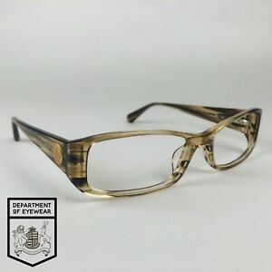 SEAN JOHN eyeglasses  BROWN + CLEAR RECTANGLE glasses frame MOD: RUBBED AWAY