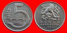 5 KORUN 1994 REPUBLICA CHECA-22102