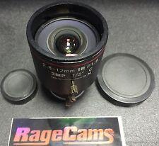 "2.8-12mm C mount CAMERA LENS 1/2"" 2 mega pixel for c-Flea Abakus Bassler Rodagon"