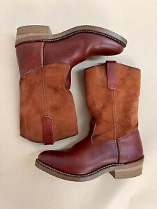 Red Wing 4327 Pecos x Eat Dust Oro-russet Portage Oro-Russet Abilene 'Rough-out'