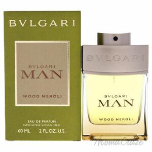 Bvlgari Man Wood Neroli by Bvlgari 2 oz / 60 ml Eau De Parfum Spray NEW, SEALED