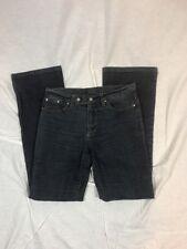 Women's Versace Jeans Signature Boot Cut Blue Denim Jeans Sz 29 Stretch