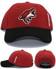 Arizona Coyotes AZ New Reebok NHL 2 Tone Sedona Red Black Era Strapback Hat Cap