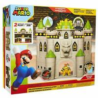 Nintendo Super Mario Deluxe Bowser's Castle Playset NEW & SEALED