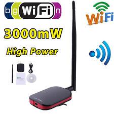 1000mW High Power USB WIFI Wireless Adapter Network Card 150Mbps 802.11 Antenna
