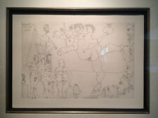 Pablo Picasso Original Etching - El Entierro del Conde de Orgaz 1960s