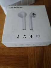 TWS MINI i7S WIRELESS EARPHONES   BLUETOOTH   WHITE AIRBUDS*FOR IOS & ANDROID*