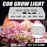 LED Grow Light COB X6 1800W Plant Grow Full Spectrum Veg Plants Bud Indoor Lamp