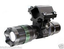 300 Lument Flashlight With Mount For 20 Gauge Mossberg 500 Shotgun.