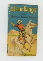 Vintage 1950 The Lone Ranger Secret of Somber Cavern HB Better Little Book