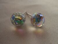 HYPOALLERGENIC Stud Earrings  Swarovski Elements Crystal Earring  Faceted Ball