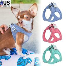Dogs Harness Reflective Padded Small Pet Cat Puppy Vest For Chihuahua Bulldog US