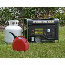 Power Outage Camping Hunting New Gasoline/ Propane 4000W Dual Fuel Generator