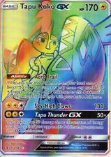 Pokemon Tapu Koko GX Rainbow Holo 153/145 - Proxy Karte - Kapu-Riki