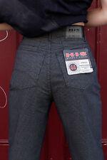 HIS Stretch Sheffield Hose schwarz kariert trousers 90er True VINTAGE 90s NOS