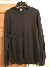 Charles Wilson XXL Dark Grey Mens Jumper Long Sleeve