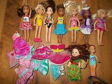 "Mattel Barbie Club Chelsea Some African American Black 5"" Doll kelly lot"