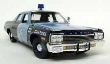 Autoworld 1/18 Scale - 1974 Dodge Monaco Massachusetts State Police Model Car