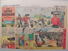 Lone Ranger Sunday Page by Fran Striker and Charles Flanders from 4/20/1941