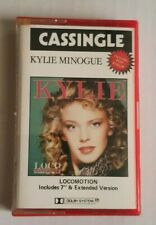 Kylie Minogue Locomotion RED Cassette Tape 1987 - AS NEW