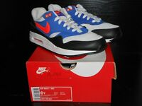NIKE AIR MAX 1 BOYS GIRLS TRAINER MULTICOLORED RRP £60/- SIZE 5.5 UK