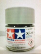 Tamiya acrylic paint XF-14 JA Grey. 10 ml Mini.