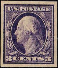 #345  1909 3c IMPERF ISSUE  MINT-OG/H--VF