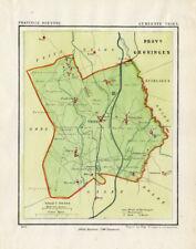 ANTIQUE MAP-NETHERLANDS-VRIES-DRENTHE-KUYPER-1865