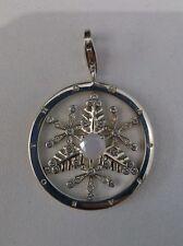 New Genuine Thomas Sabo Sterling Silver CZ Snowflake Pendant T0116 £99.95