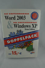 Das Einsteigerseminar Word 2003 und Windows XP Home Edition BHV-Verlag MS Office