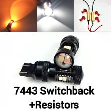 Front Signal T20 7443 7444 3030 Amber 3020 White Switchback LED K1 HAK