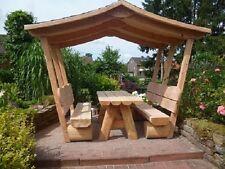 Gartenmöbel mit Dachschindel .Krongartmöbel.