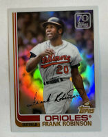 2021 Topps Series 1 Frank Robinson 70 Years of Topps Chrome #70YTC-32 SP