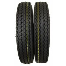 "NEW Set of (2)- 5.30x12 High Speed 12"" Trailer Tires 6 Ply Load Range C 530-12"