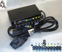 Universal Laptop Netzteil 90W / 96W 12V - 19V 19,5V 20V 24W 2A - 5A + 11 Stecker