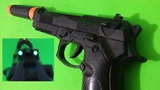 M9 dummy toy gun & glow sight blowback simulation beretta m92f prop slide move