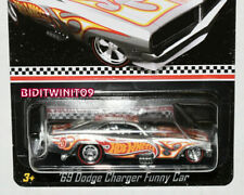 HOT WHEELS 2016 MAIL IN '69 DODGE CHARGER FUNNY CAR ZAMAC