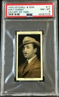 1936 Mitchell & Son Gallery of 1935 #17 Walt Disney PSA 8 NM-MT