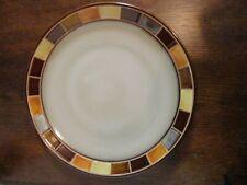 """GIBSON ELITE """"CASA ESTEBANA"""" BROWN DINNERWARE - 11 1/4"""" DINNER PLATE"""