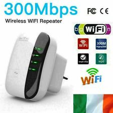 WiFi Booster Signal Extender Range 300Mbps Internet Network Amplifier Repeater