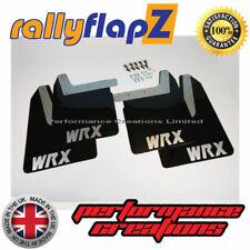 Impreza WRX / STI Mud Flaps Mudflaps 01-07 Bugeye Blobeye Hawkeye - BLACK (WS)