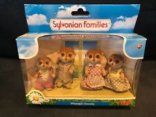 Sylvanian Meerkat Family very rare, retired, only sold in the Uk