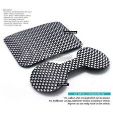 Carbon Style Insert Tray Pad Cup Holder Pocket 2p for KIA 13-17 Cerato Forte K3