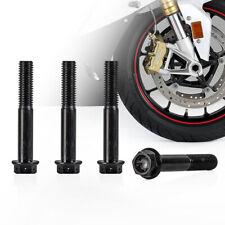 Perfeclan 12x M5 x 14mm Bike Titanium Ti Disc Brake Rotor Bolts Mount Screws