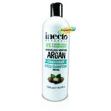Inecto Natural Marvellous Moisture Pure Organic Argan Oil Conditioner 500ml