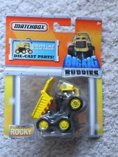 Matchbox Big Rig Buddies ROCKY The Robot Dump Truck Die Cast 2010 NIP